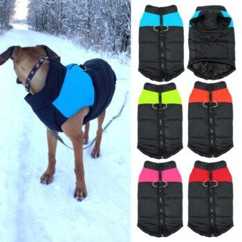Fashion Waterproof Winter Dog's Vest