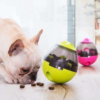 Interactive Dog's Food Treat Ball Toy