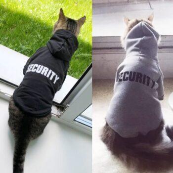 Security Cat Clothes