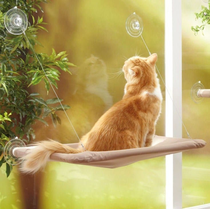 Cosy Hanging Hammock for Pets