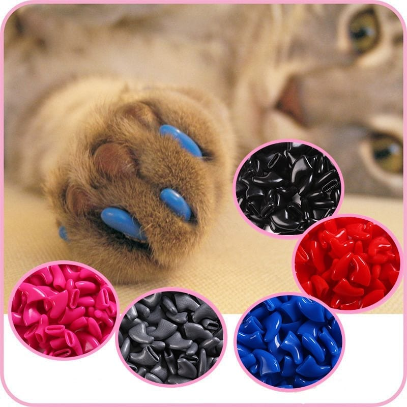 Cat's Nails Caps 100 pcs Set