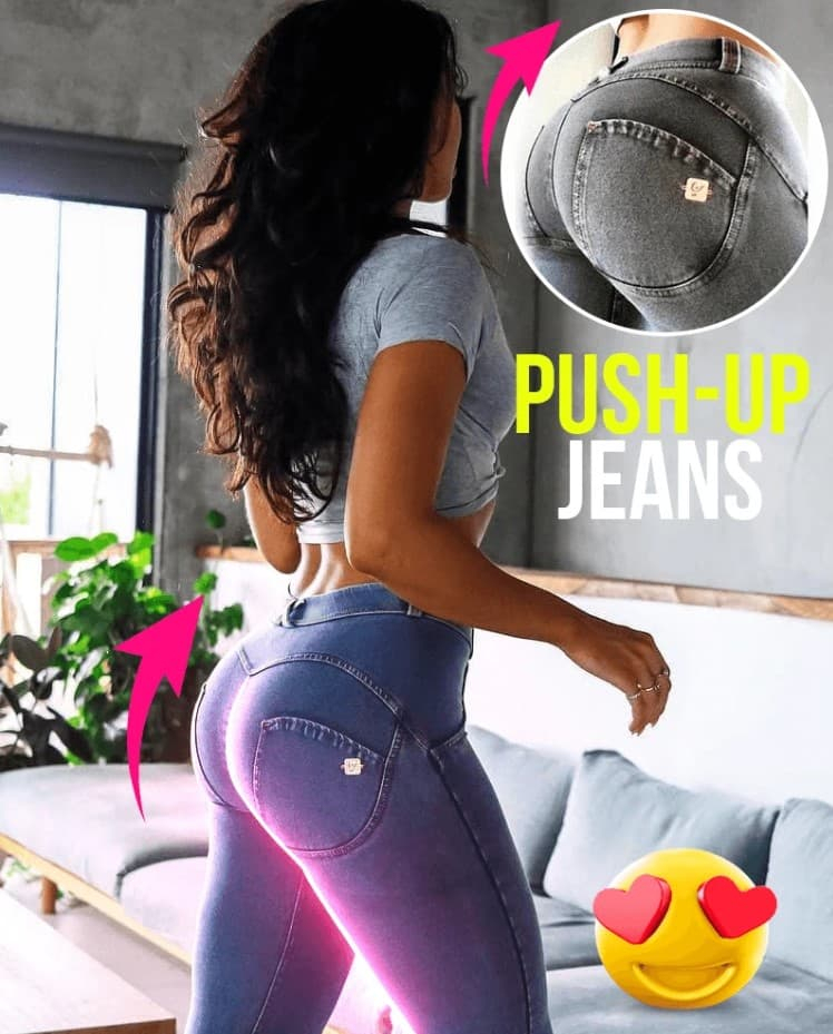 Push-Up Jeans Apparel Women Clothing Color : Blue|Navy Blue|Gray