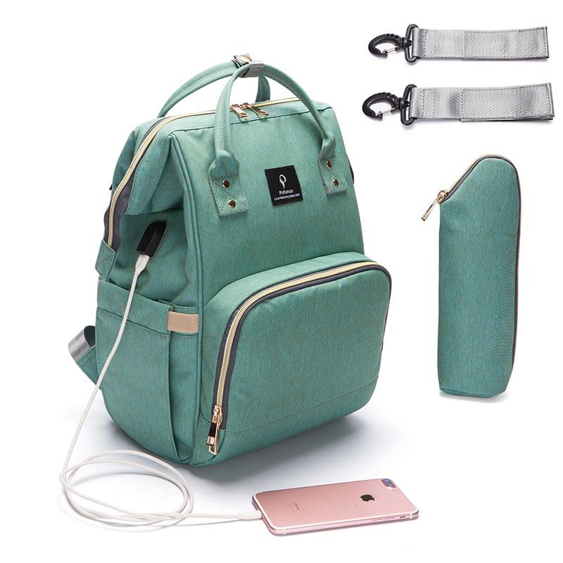 Multi-Function USB Diaper Bag