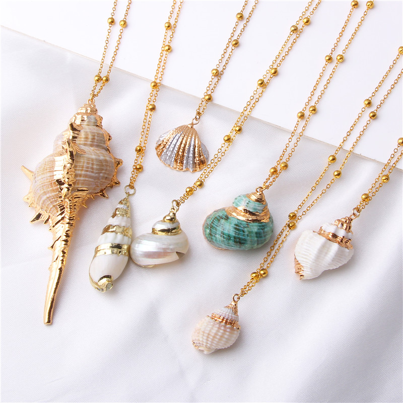 Boho Conch Shell Necklace
