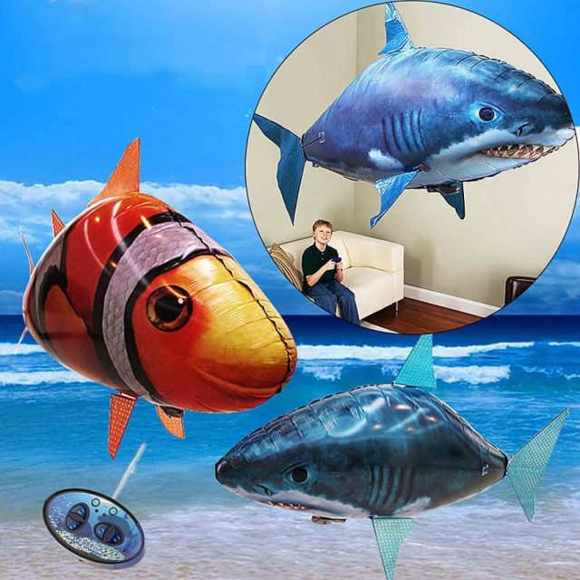 Remote Controlled Flying Fish