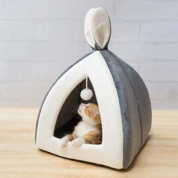 Cat House With Door Toy